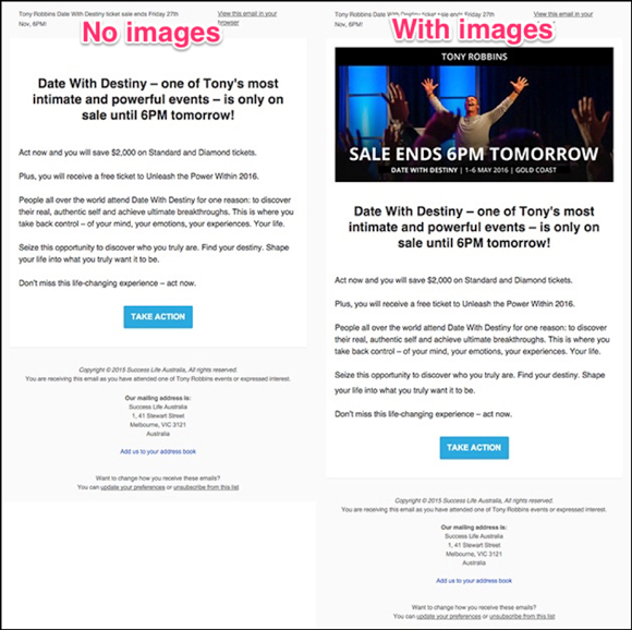 Best Practice for Email Images & Alt-text