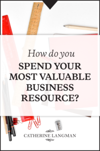 How do you spend your most valuable business resource - your time?