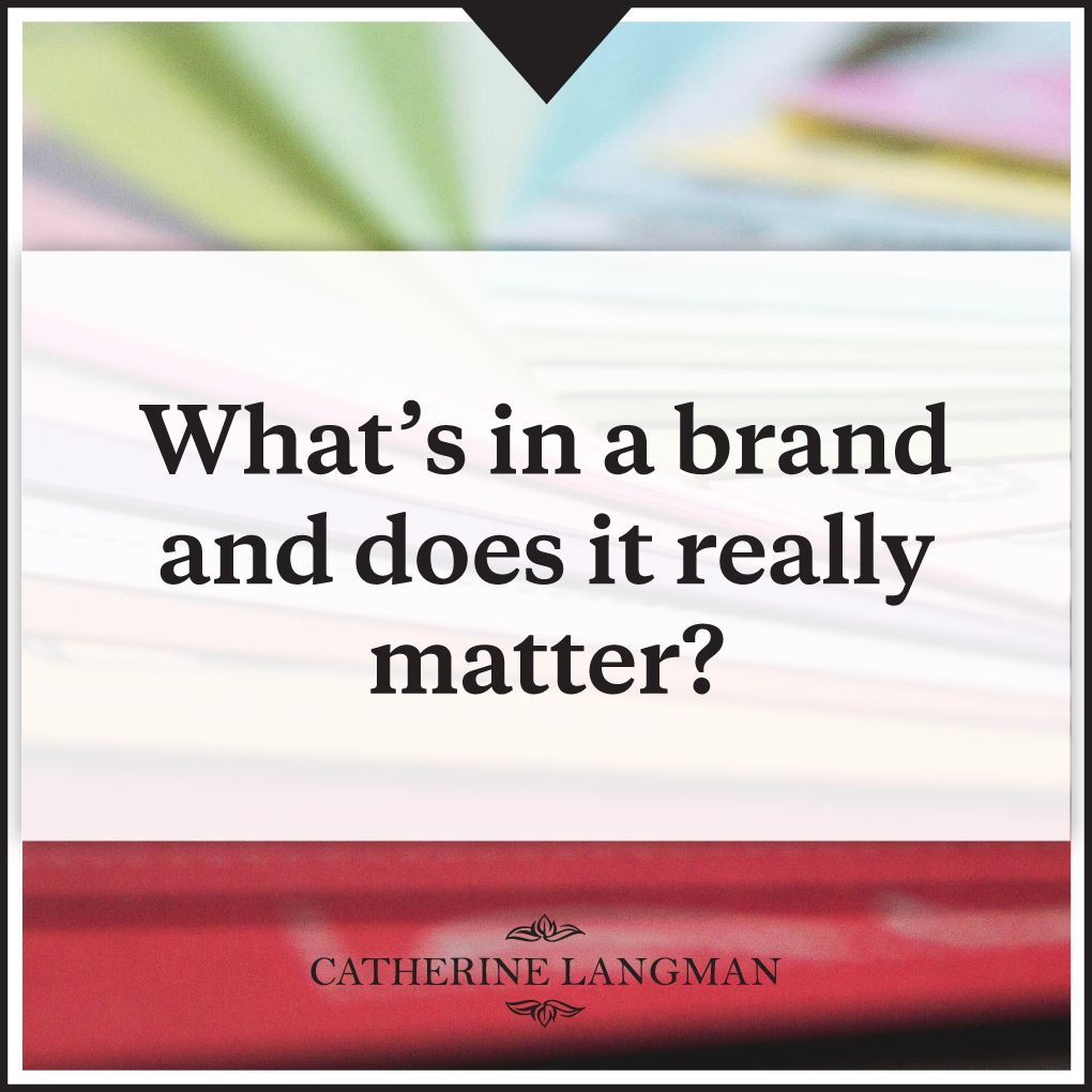 What's in a brand (and does it really matter?)