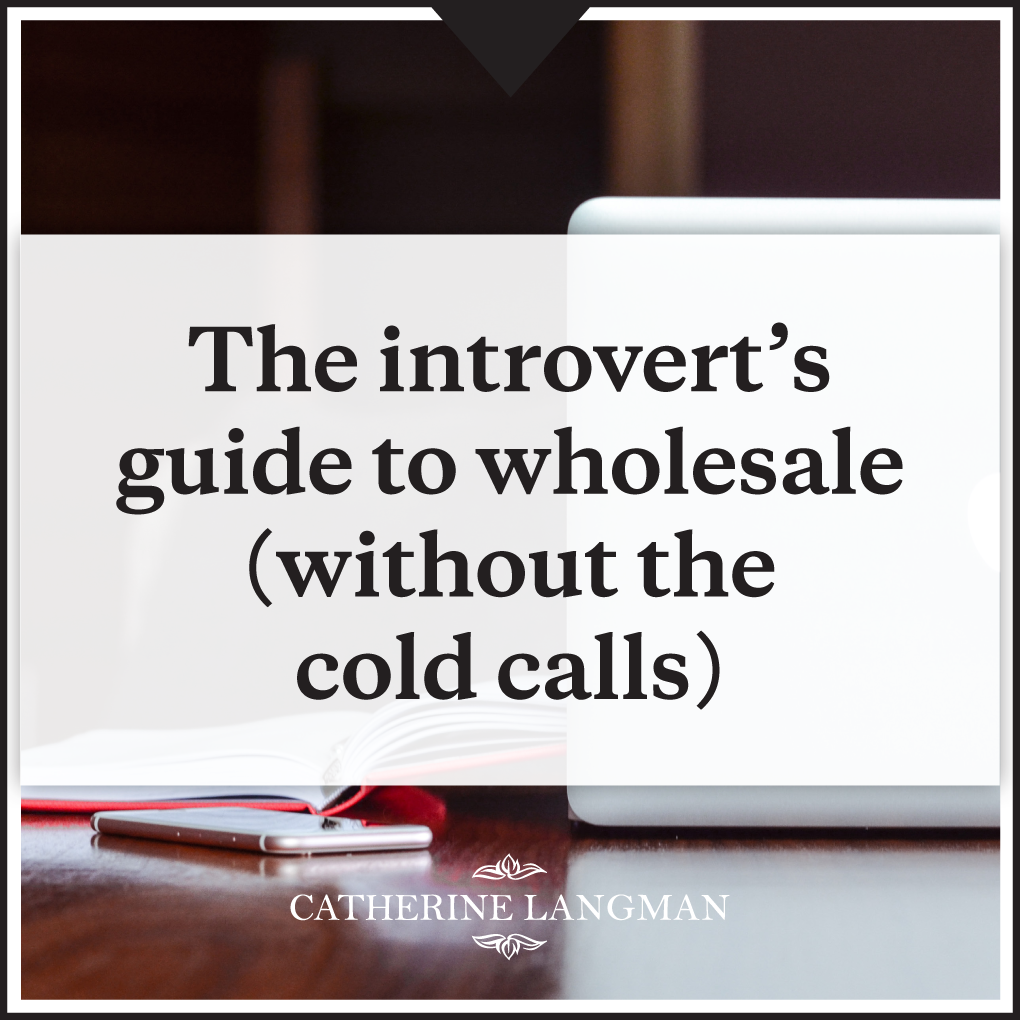 How to Wholesale - an Introvert's Guide