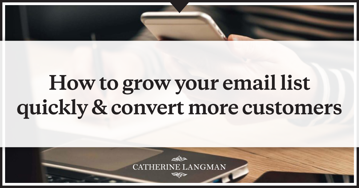 Grow your email list and convert more customers with an eCommerce sales funnel