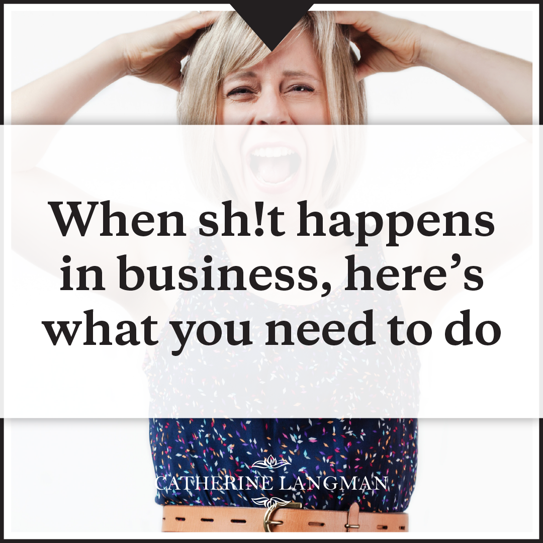 How to deal with business mistakes and thrive