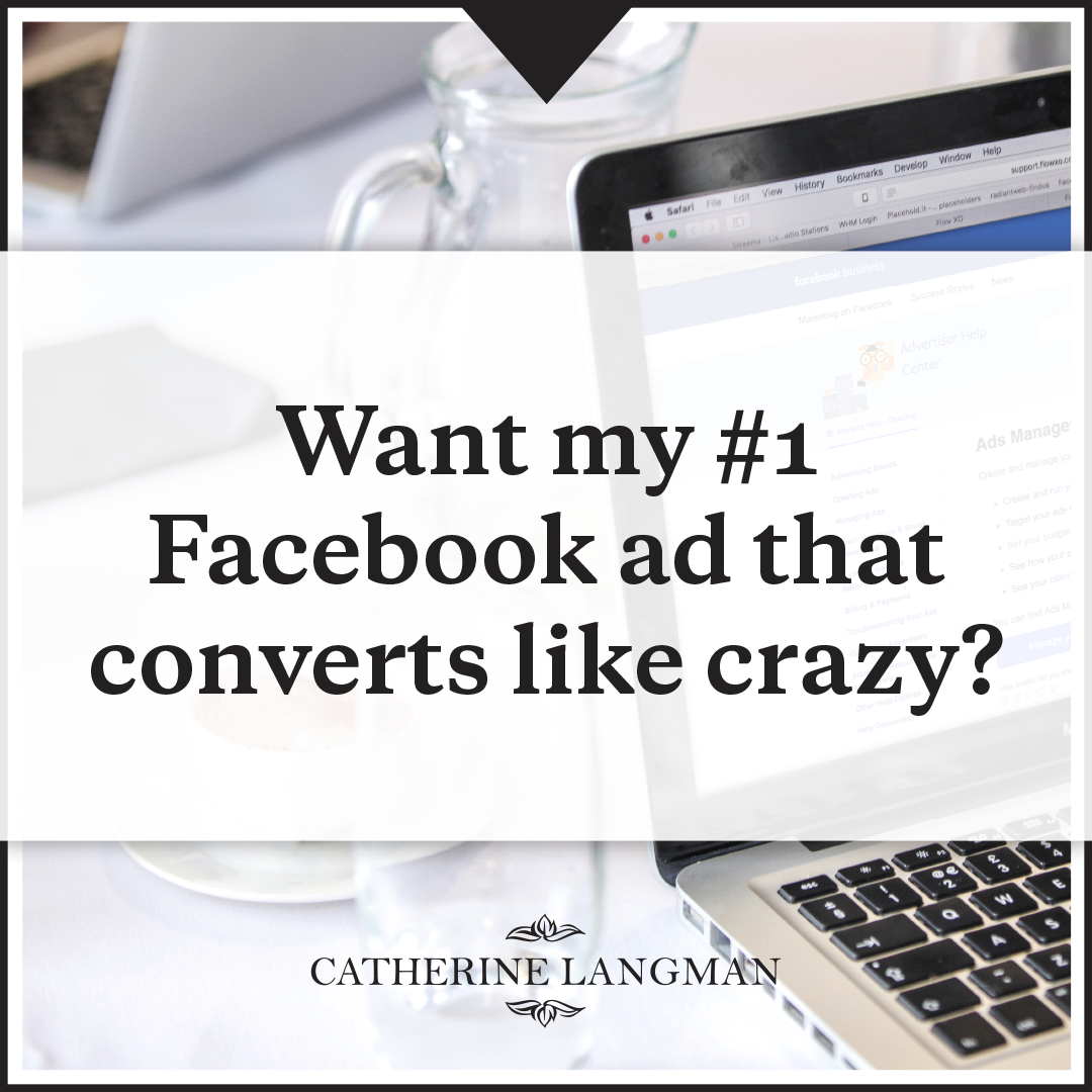 Want my #1 Facebook Ad Campaign That Converts Like Crazy?