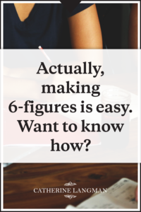 Actually making 6 figures is easy
