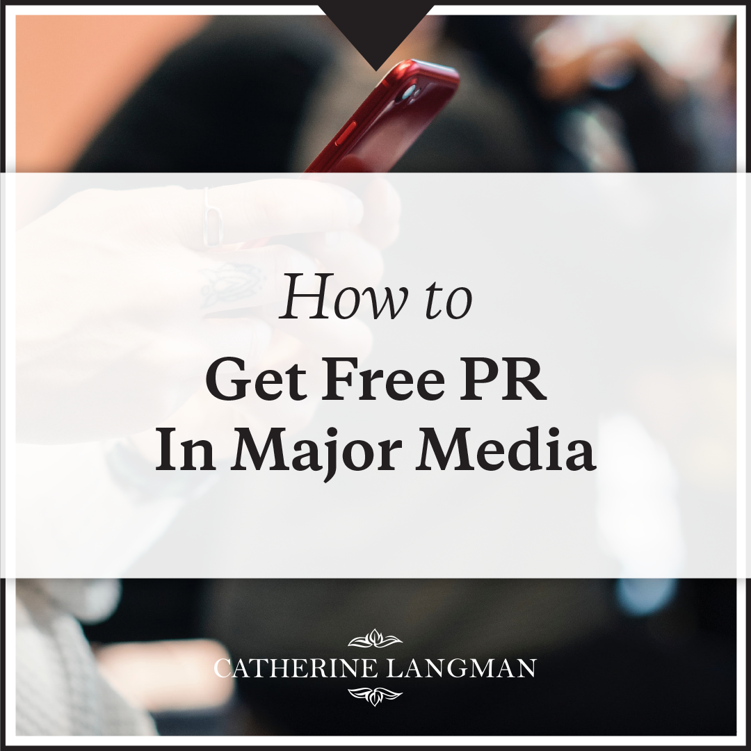 How To Get Free Product PR In Major Media