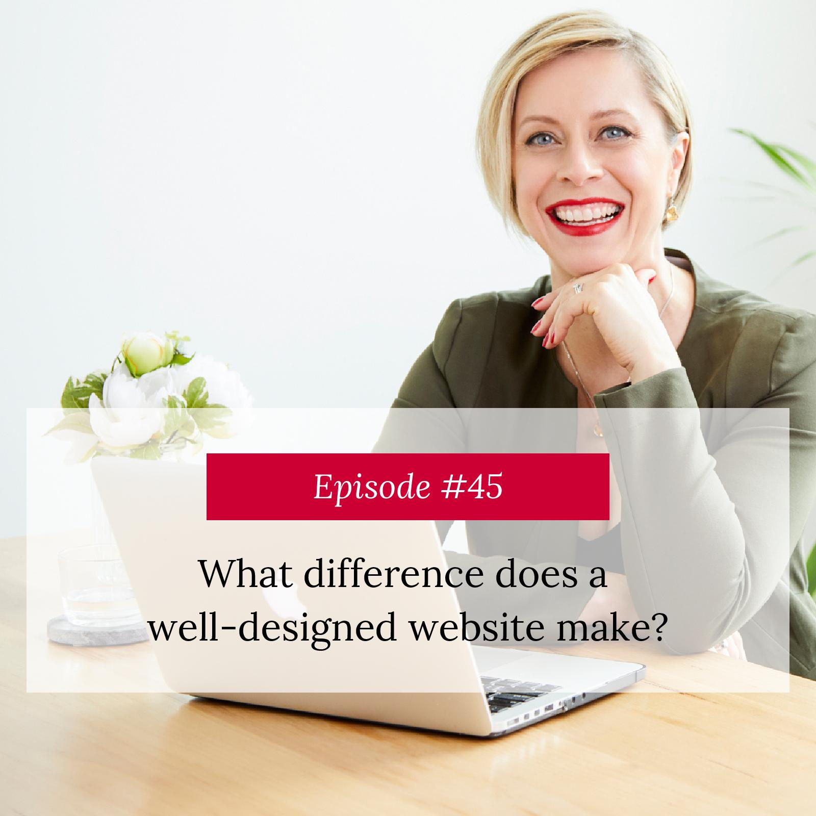 What difference does a well designed website make?