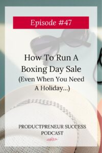 How To Run A Boxing Day Sale