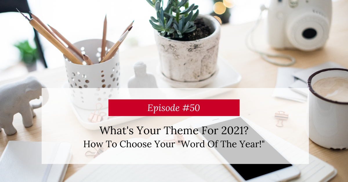 How To Choose Your Word Of The Year