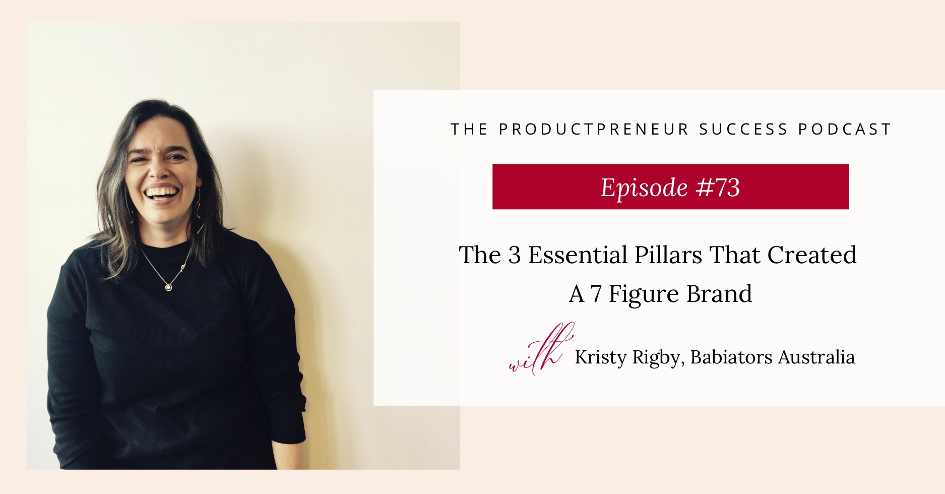 Podcast Title - The 3 Essential Pillars to Create a Million Dollar Brand