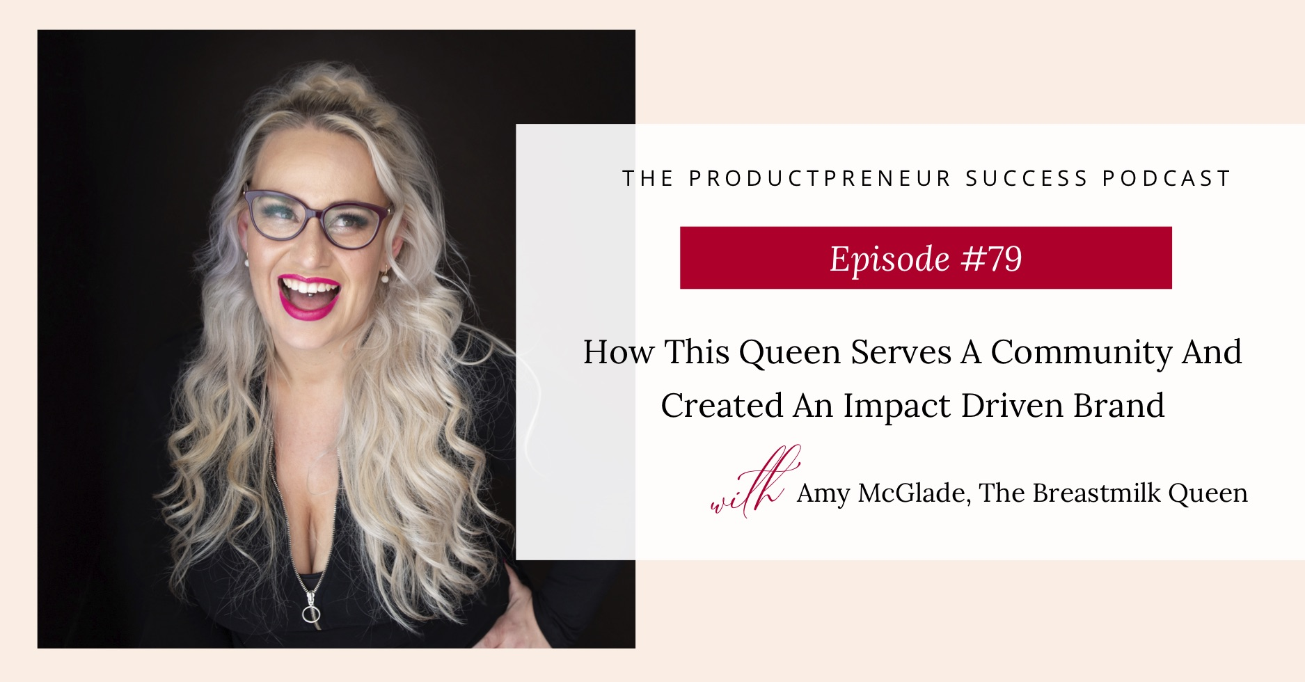 Interview with Amy McGlade from The Breastmilk Queen
